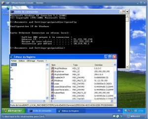 Bug netmask ipconfig